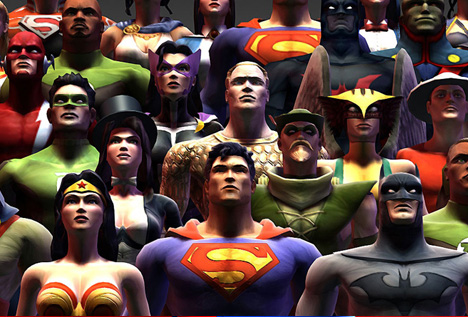 Blur Super Heroes