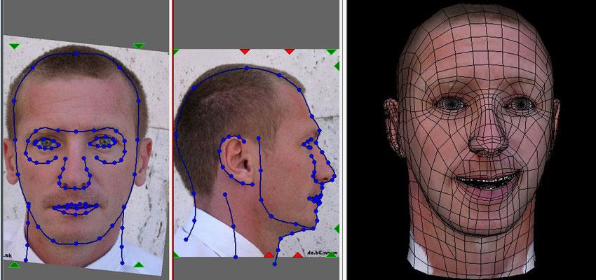 Animation facial software Kendra she