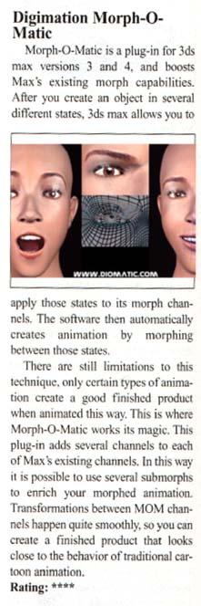 Digimation facial studio for