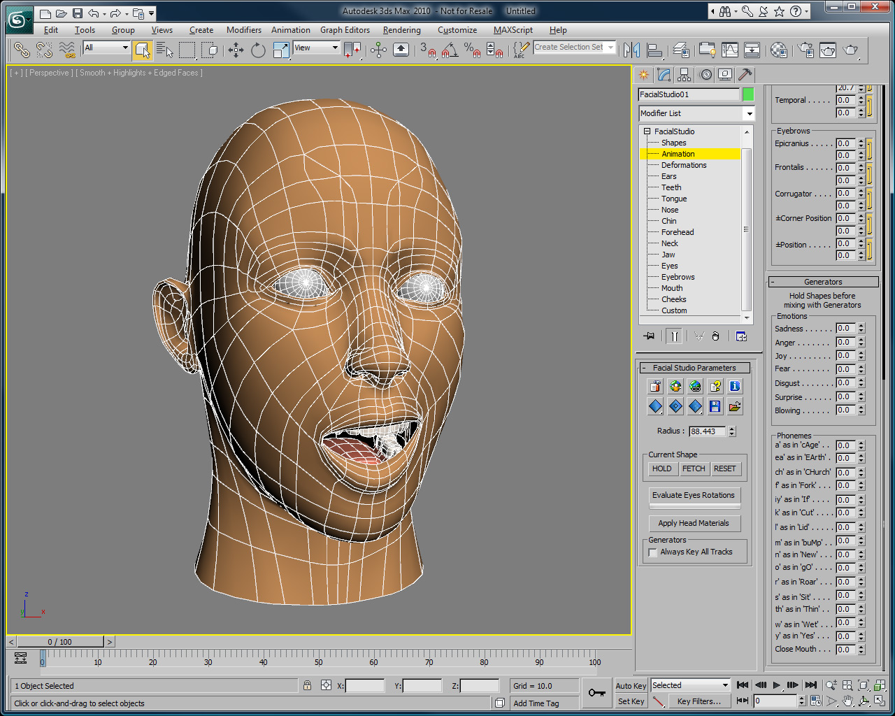 Di-O-Matic com > Products > 3ds max Plugins > Facial Studio > Overview