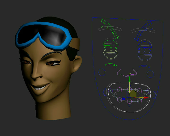 Facial Rigging in 3ds max with Luis San Juan