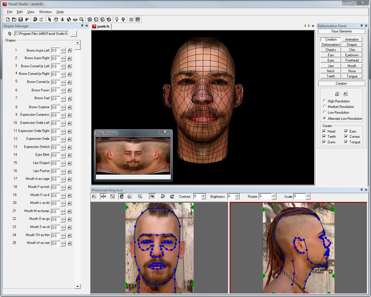 The ultimate 3D head creation software