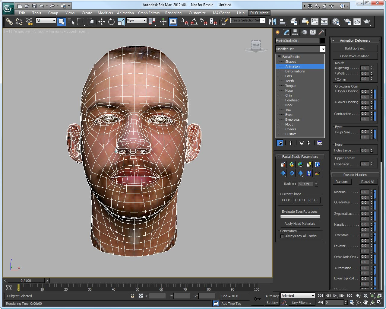 Facial studio essential 3d head modeling software for 3d building creator