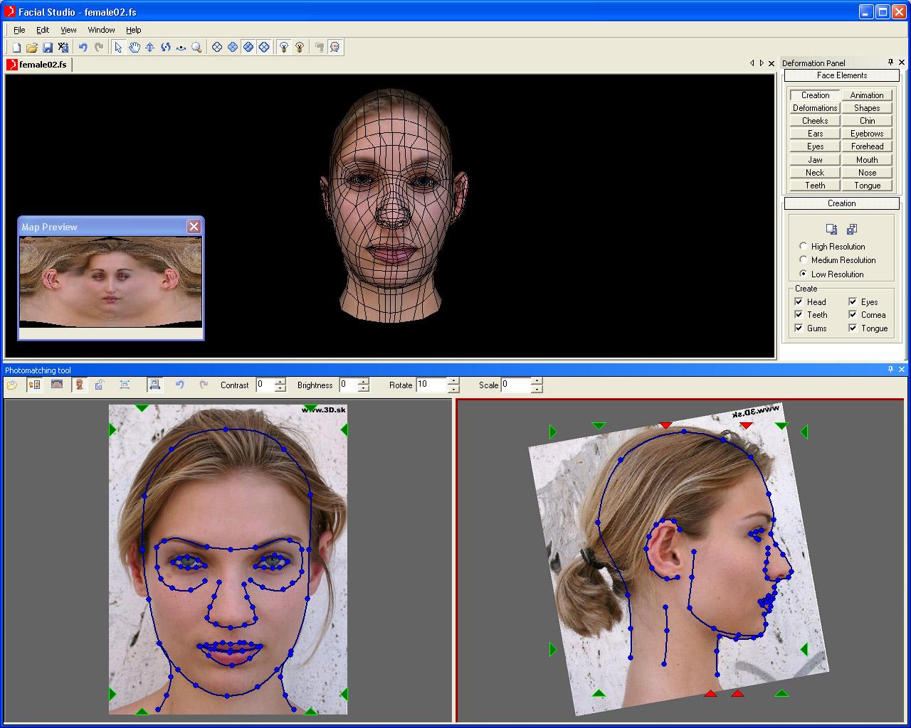 Facial Studio for Windows 2.0
